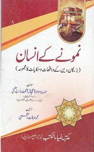 Namoonay kay Insan By Maulana Ejaz Ahmad Azmi نمونے کے انسان